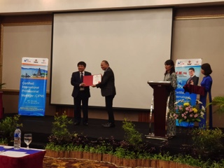 Graduation ceremony for our Vietnamese Professional Managers